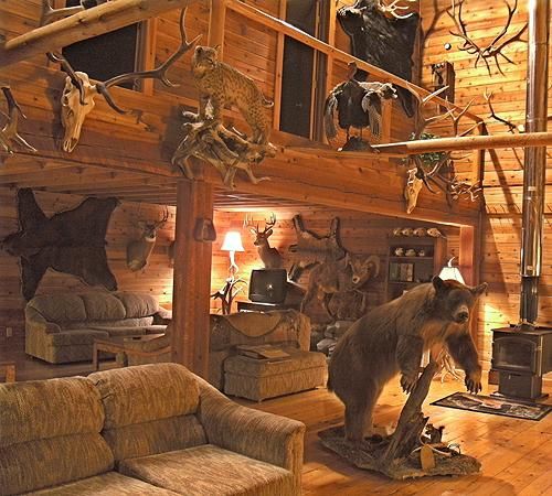 Wayne Hill Outfitting Lodge Main Room