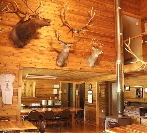 Wayne Hill Outfitting Lodge Kitchen