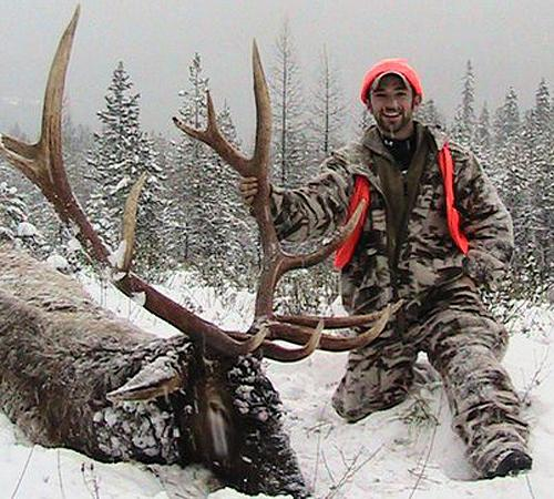 Rifle Elk and Deer Hunt - James