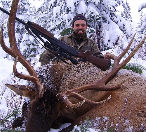 Rifle Elk and Deer Hunt - Josh